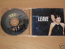 BELA B. & LULA/LEAVE (8573-81711-2) MAXI CD