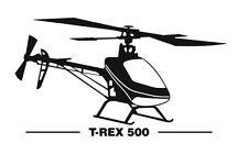 Align T-Rex 500 Aufkleber
