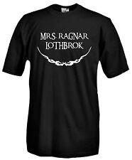 T-shirt The Vikings J868 Mrs Ragnar Lothbrok Maglia Serie TV