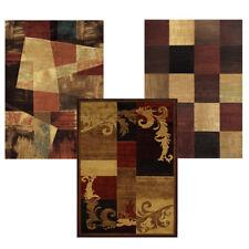 "Contemporary Multi Transitional 5x8 Area Rug Casual Carpet - Actual 5'3"" x 7'2"""