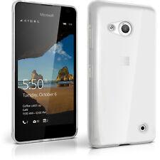 Funda TPU Gel Carcasa para Microsoft Lumia 550 Cubierta Cover + Prot de Pantalla
