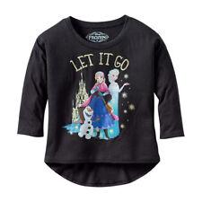 Disney Frozen Let It Go Trio Juniors 3/4 Sleeve T-Shirt