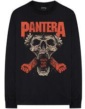 Pantera 'Mouth For War' (Black) Long Sleeve Shirt - NEW & OFFICIAL!