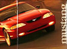 1998 FORD CAR & TRUCK Brochure : F Series,RANGER,F-150,BRONCO,MUSTANG,TAURUS,