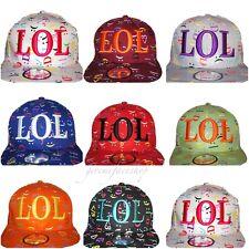 LOL fresh prince snapback caps, multi flat peak baseball fitted hats hiphop
