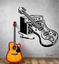 Wall Sticker Vinyl Decal Electric Guitar Rock Music Pop Decor (ig1861)