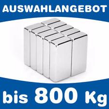 Neodym Quadermagnet Magnetquader - bis 800kg - AUSWAHL - starke Supermagnete