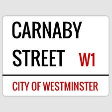 Carnaby Street London Street Sign Plaque Aluminium