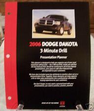 **LOOK** 2006 Dodge Dakota Truck  Dealer 3 Minute Drill