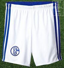Schalke Home Shorts - official adidas Boys FC Schalke 04 Football - All Sizes