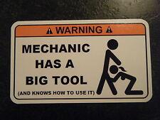 Tool Box Warning Sticker - Gold - Must Have!!  mac big tool