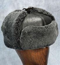 NEW Russian Hat (Black) - 100% Sheepskin by Northern Hats (SKU: 19K-BLK)