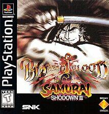 Samurai Shodown III: Blades of Blood, Acceptable PlayStation, Playstation Video