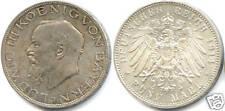 ALLEMAGNE BAVIERE LOUIS III 5 MARK 1914 D QUALITE !!!!!