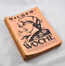 Bilder-Woche Jahrgang 1929 (Heft auswählen) Versicherungszeitschrift (Büche)