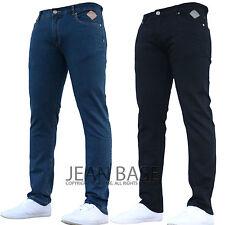 Mens Jeans Slim Fit Designer Brand Stretch Skinny Denim All Waist & Sizes Hays