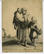 17th Century Print of Peasant Family (2)