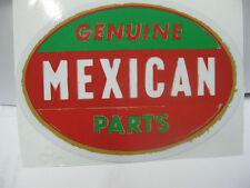 RAT ROD HOT ROD CHOPPER BOBBER TATTOO GENUINE MEXICAN PARTS