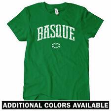 Basque Women's T-shirt - Euskadi Northern Spain Gasteiz Pamplona ESP - S to 2XL