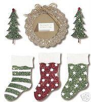 JOLEES BOUTIQUE Stickers - SEASONS GREETINGS  Christmas