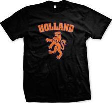Holland Heraldic Lion Netherlands Nederland Dutch Pride Mens T-shirt