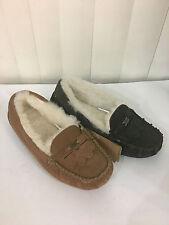 EMU Talia Soft Warm Comfortable Sheepskin Moccasin Slippers Size 5-8 Wide