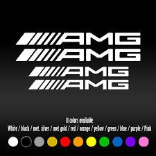 "5"" Straight AMG Mercedes Benz BBK Brake Caliper High Temp Vinyl Decal sticker"