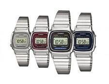Casio Ladies watch retro digital LA670WA choice of 4 colours UK seller