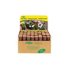 JIFFY 7 PEAT PELLETS-GARDEN SEED PLANT STARTER GROW PLUGS-GARDENING -36mm/42mm