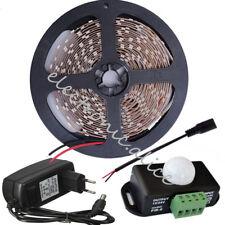 5m 2835 LED Strip Light +PIR Human Motion Sensor Switch+12V 2A Adapter Set