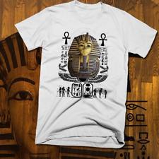 Egyptian Pharaoh T-Shirt ankh Hieroglyphics Ancient Kemet S to 3XL, soft cotton