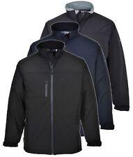 Portwest TK50 black, grey or navy softshell waterproof windproof jacket XS-5XL