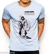 Conan the barbarian T-Shirt, samurai, assassins, anime, SZ S-2XL, tank top, new