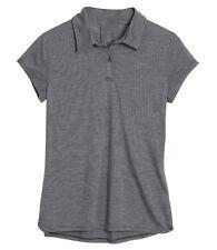 Icebreaker Sphere Short Sleeve Polo Stripe - 135g/m² - Polo Shirt Ladies