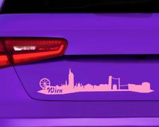 Stadtaufkleber Wien Autoaufkleber Sticker  11 Farben 2 Größen