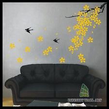 Wall Stickers Tree Flower Kids Art Murals Decals Butterfly Vinyl Decors--D159