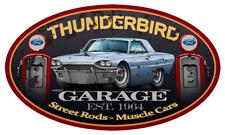 1964 Ford Thunderbird Hardtop Garage Sign Wall Art Graphic Sticker