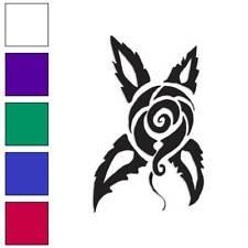 Rose Flower Decal Sticker Choose Color + Size #3325