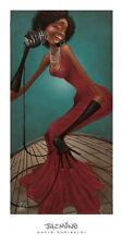 David Garibaldi Jazmine (18 x 36) Art Print African-American Music Poster 18x36