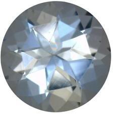 Natural Fine Pale Blue Aquamarine - Round - Zambia - AAA Grade
