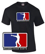 T-Shirt Darten MAJOR LEAGUE DARTS Darter Dartgott Dart Spruch lustig König wm em