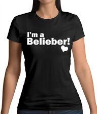 I'm A Belieber - Womens T-Shirt - Justin - Singer - Merch - Fan - Love - Bieber