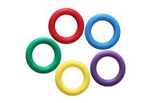 Tennisring Wurfring 18 cm Gummi Werfen Zielen Wurfringe Gummiring mit Ventil