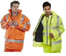 BeeSwift TJFS Hi-Vis Traffic Jacket 4-Seasons Heavy Duty +Reversible Bodywarmer
