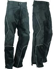 NEW Mesh Armored Waterproof Duratex 600D Reflective Motorcycle Biker Pants Sizes