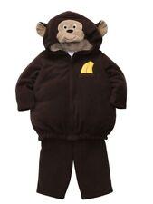 Carters Infant Monkey Costume Baby Boys Girls Hoody Jacket Sweat Pants