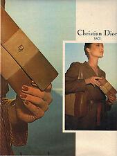 PUBLICITE  1979   DIOR  boutique    sacs pochettes