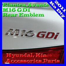 M16GDI Lettering Emblem Badge For 2011 2012 2013 2014 2015+ Hyundai Elantra