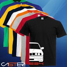 Camiseta coche german e34 basado bmw m5 530 520 car (ENVIO 24/48h)