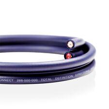 VAN DAMME Audio Interconnect Cable 268-500-000 Neutrik PROFI NF2C-B/2 Phono RCA